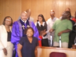 Family with Sunshine Baptist Church Pastor