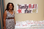 Dominique Gillyard, Family Reunion Health Fair Coordinator