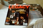 Legacy Magazine donated magazines and included a discount offer for reunion attendees