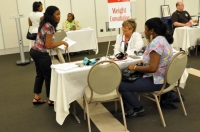 Scene from the 2010 Family Health Fair