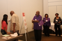 Scene from the 2012 Family Health Fair